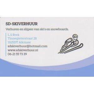 SD Skiverhuur logo