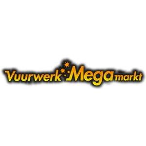 Vuurwerk Megamarkt logo