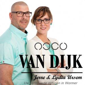 Van Dijk Optiek Wormer logo