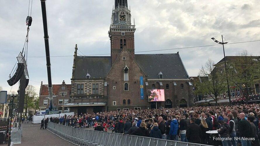 Nachtburgemeester Alkmaar vraagt vergunning aan voor groot scherm tijdens bekerfinale