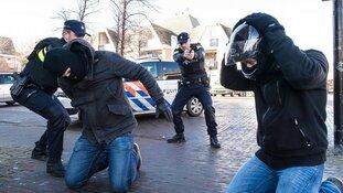 Lichte daling in cijfers over politiegeweld