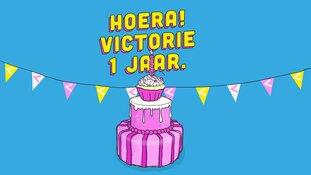 Victorie viert eerste verjaardag in nieuwe pand op 25 mei!