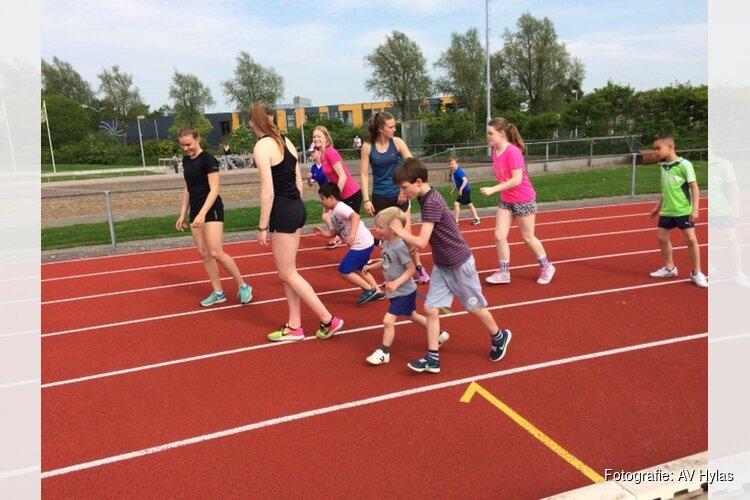 Atletiektrainingen voor jeugd met een beperking