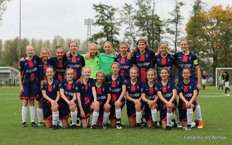 VV Alkmaar start volgend seizoen met twee meiden jeugdteams