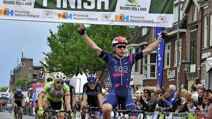 Profronde van Noord-Holland met start en finish in Alkmaar