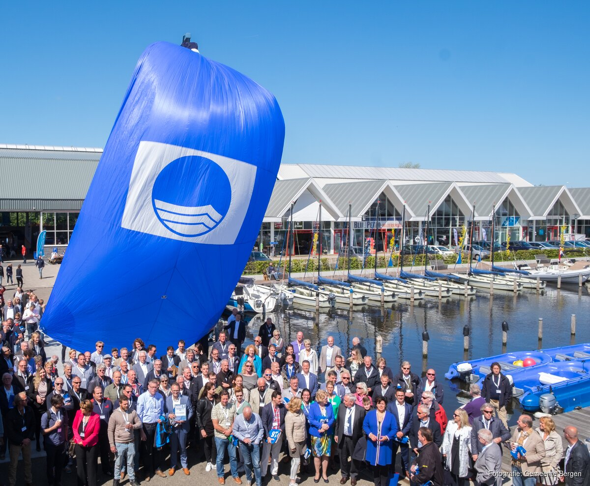 Weer Blauwe Vlag Voor Stranden Bergen Alkmaarsdagbladnl