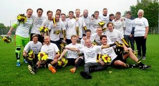 SV Koedijk trotse kampioen 4e Klasse B