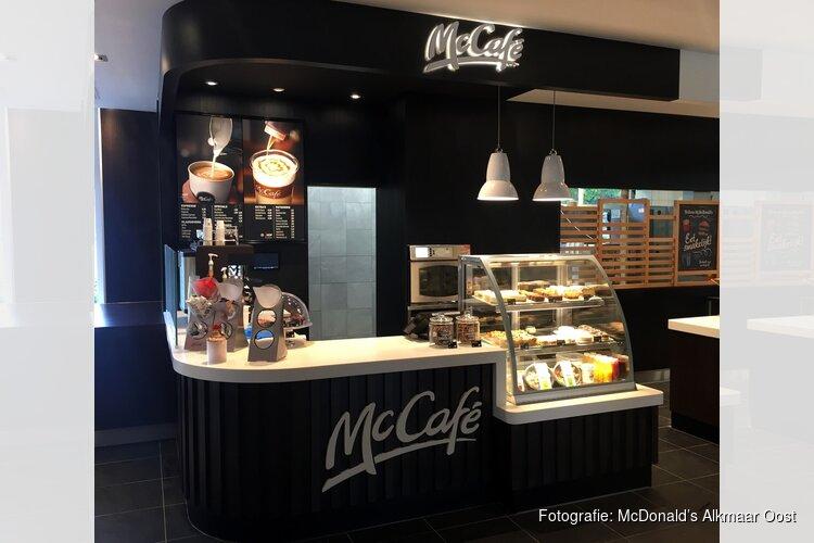 McDonald's Alkmaar Oost opent McCafé