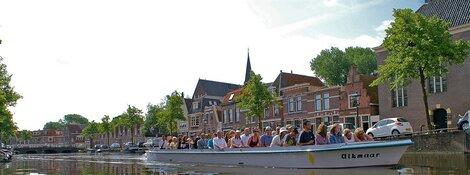 70-Jarig Bestaan Grachtenrondvaart Alkmaar