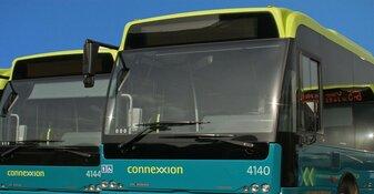 Passagiersbus afgebrand in Alkmaar