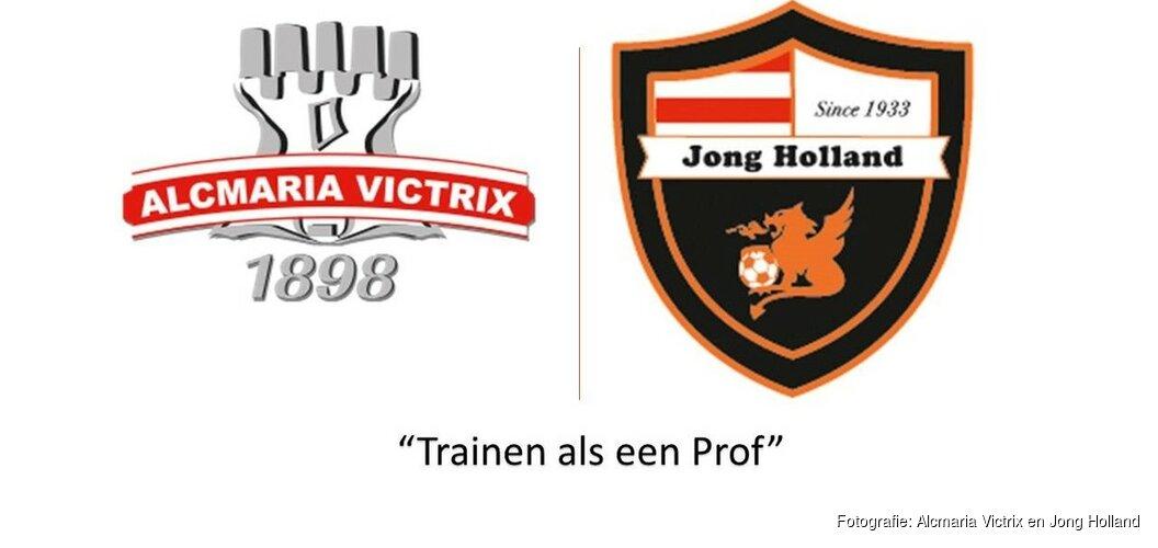 Alcmaria Victrix en Jong Holland organiseren voetbalclinic met Stefanie van der Gragt