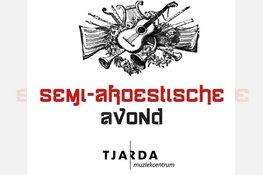 Vanavond semi-akoestische avond in Muziekcentrum Tjarda