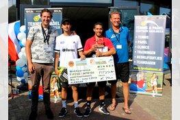 Zuid-Amerikanen geven kleur aan sterk Padeltoernooi bij TPC Daalmeer