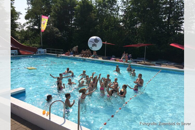 Jaarlijkse Zwem4daagse van Zwembad de Bever