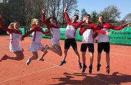 Tennisvereniging Oudorp zit weer in de lift
