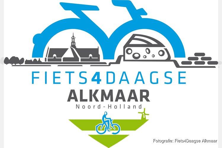 Fiets4Daagse Alkmaar staat binnen een maand weer op de hoek!