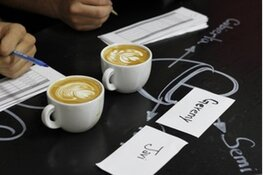 Alkmaarse Latte Art Throwdown @ Stadsstrand de Kade'