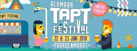 Alkmaar TAPT Festival op 22 & 23 juni 2018