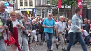 Wandelaars en molens in vreugdestand voor twaalfde editie Plus Wandel4daagse Alkmaar