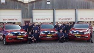 Nieuwe voertuigen voor brandweer