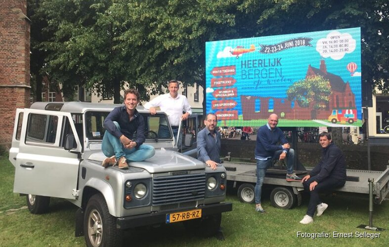 Nieuw culinair evenement 'Heerlijk Bergen... op Wielen' van start