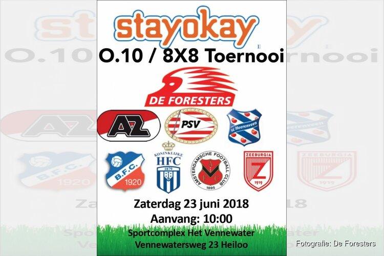 De Foresters organiseert JO10-Toernooi met AZ, PSV en Heerenveen