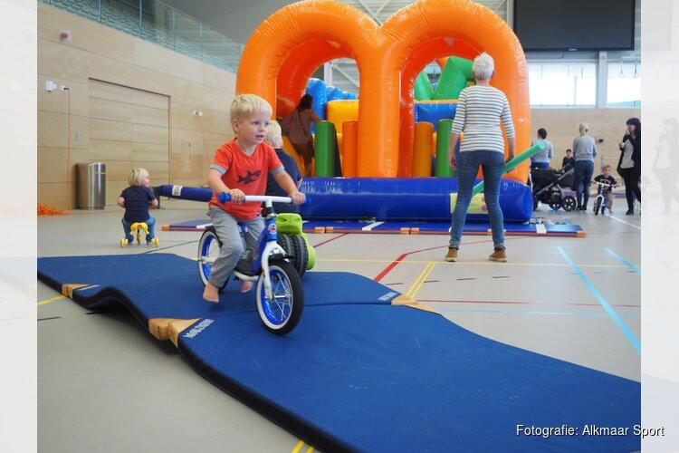Dreumesen tonen circuskunsten tijdens sportinstuif
