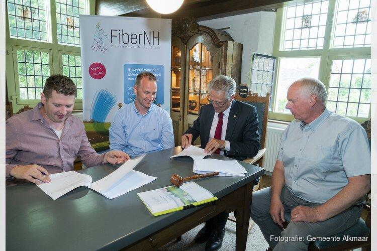 Samenwerkingsovereenkomst breedband buitengebied Alkmaar
