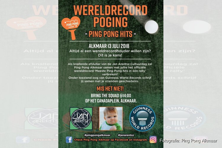 Wereld Record Poging 13 juli 2018
