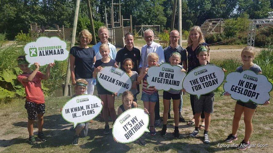Burgemeester bezoekt Alkmaars' groenste topattractie