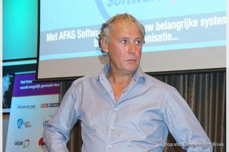 John van den Oord van MEE & de Wering opent kaasmarkt