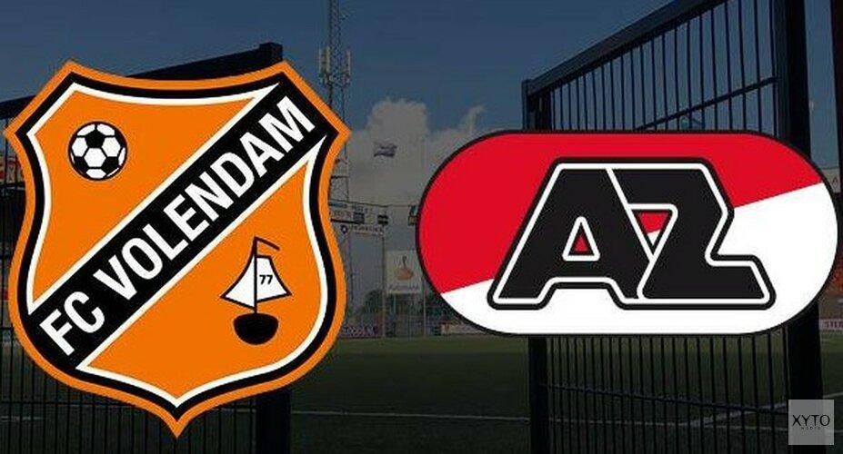Doelpuntrijk oefenduel FC Volendam en Jong AZ (3-3)