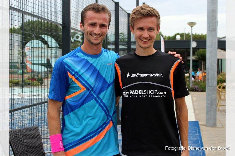 Duits duo verrassende winnaar Alkmaars Open Padel Toernooi