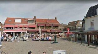 Uitslaande brand bij restaurant in dorpshart Egmond aan Zee