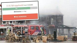 Al duizenden euro's opgehaald voor verwoest restaurant De Klok