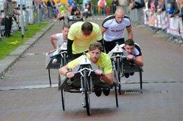 Weersomstandigheden zorgen voor meeste spanning tijdens Beddenrace Langedijk