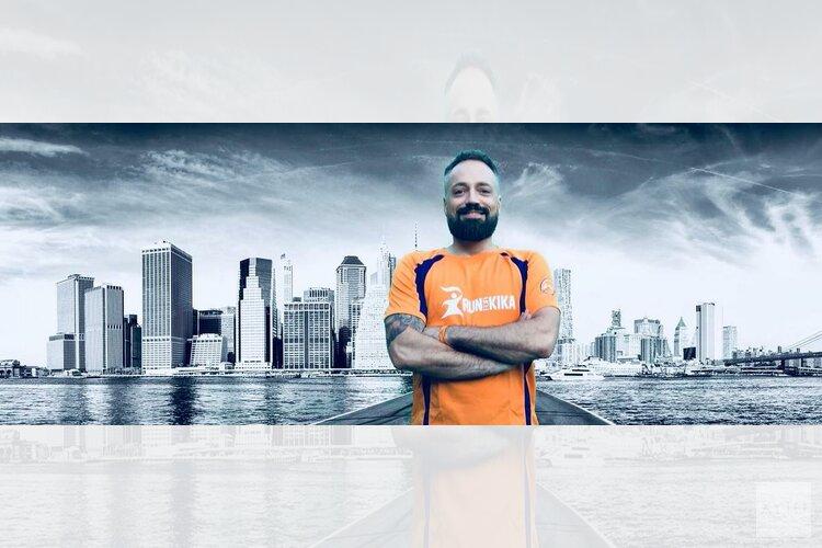 Alkmaarder Boudewijn Rigter loopt New York Marathon voor KiKa