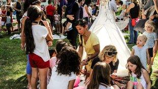 Zaterdag straatfestival De Mare