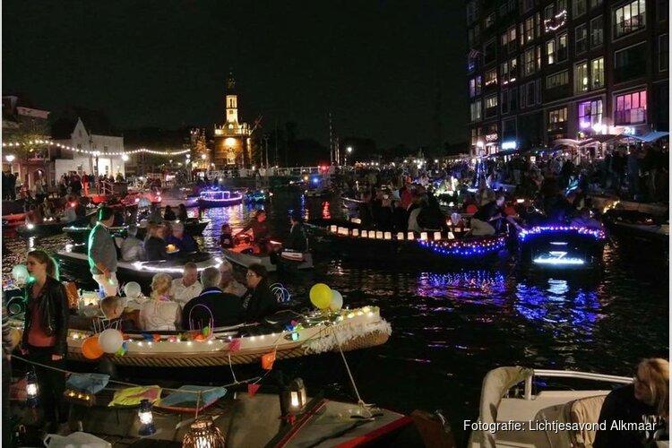 Zaterdagavond lichtjesavond in Alkmaar