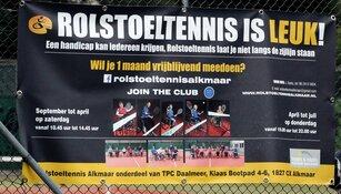 Rolstoeltennis leeft bij TPC Daalmeer, op 8 september Open Dag met Esther Vergeer