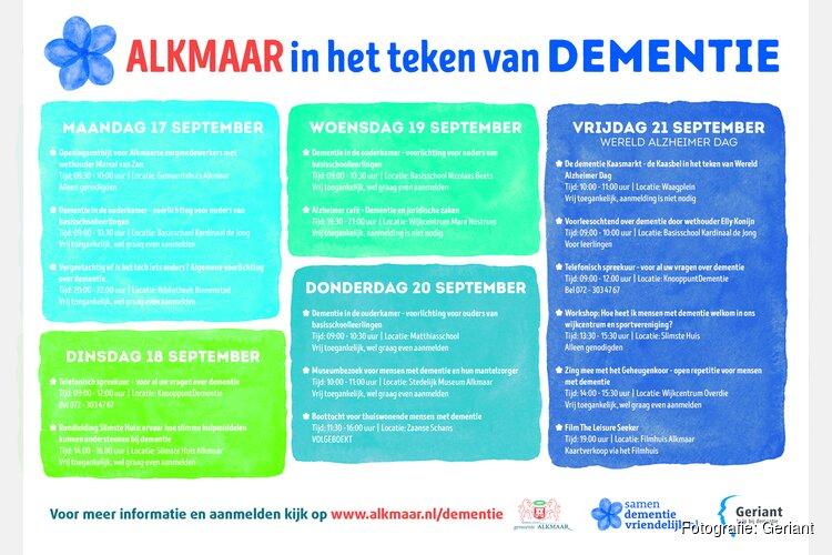 21 september: Wereld Alzheimer Dag