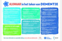Wereld Alzheimer Dag: 21 september