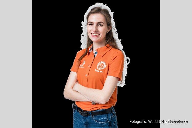 Fabiënne Bakker uit Alkmaar gaat naar EuroSkills 2018 in Boedapest