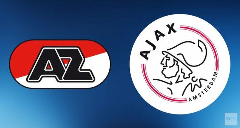 Jong Ajax de gelukkigste in matig duel bij Jong AZ