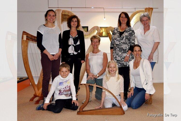10 Harpen in concert op zondag 23 september