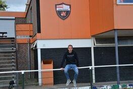 Lars Boekel weer lekker op de fiets naar het voetbal