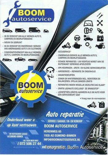 Boom Autoservice; onderhoud waar u op kunt vertrouwen