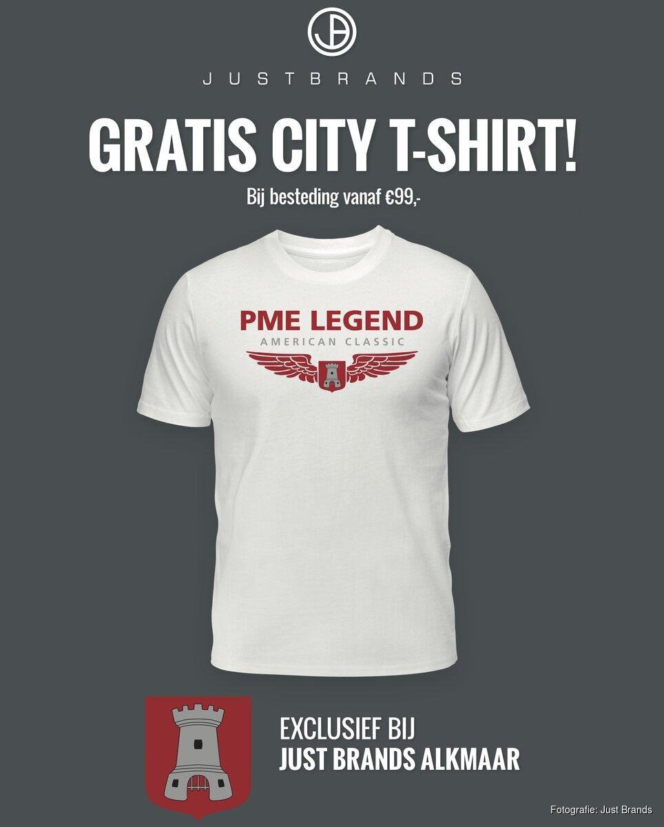 Kinderkleding Alkmaar.Alkmaar Krijgt Eigen Pme Legend City T Shirt Alkmaarsdagblad Nl