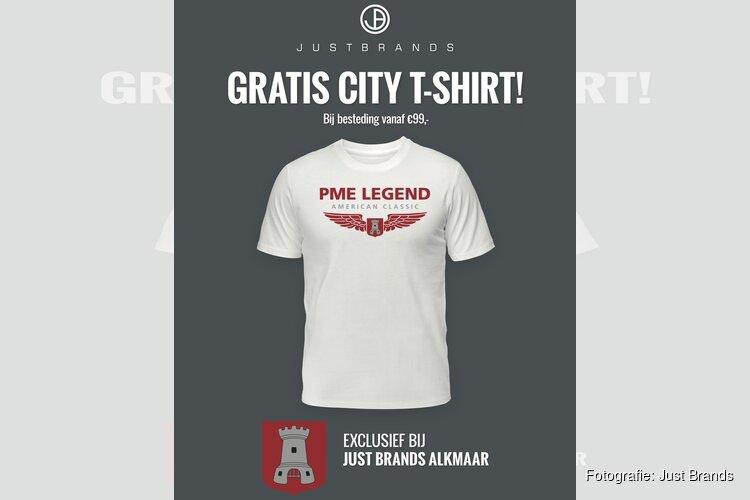 Alkmaar krijgt eigen PME Legend City T-shirt