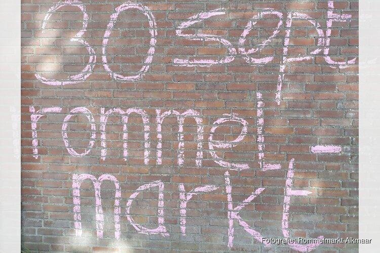 30 september is er eindelijk weer een rommelmarkt in Alkmaar!